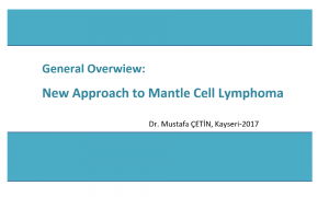 Mantle Cell Lymphoma 2017