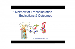 Overview of Transplantation Endications & Outcomes